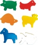Shapes Animals in a bag (72pc)